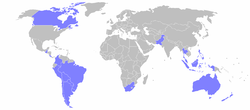 Cairns Group countries in light blue
