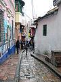 Calles-Plaza Chorro de Quevedo. Sector Antiguo de Bogotá.jpg