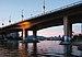 Cambie Street bridge viewed from the Spyglass Dock in Vancouver, BC (DSCF7465).jpg