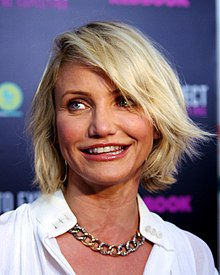 Cameron Diaz - the hot, beautiful, sexy,  actress  with German, Irish, Scottish, Cuban, English,  roots in 2017