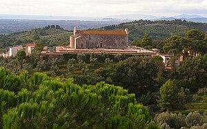 Campiglia Marittima - Pieve of San Giovanni and its surrounding cemetery