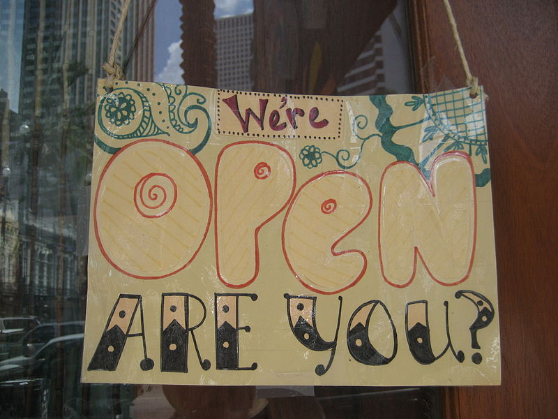 File:Canal St NOLA CBD Sept 2009 Hippie Gypsy Open Sign.JPG