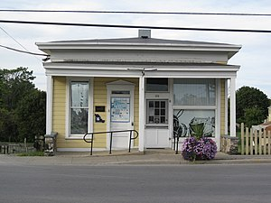 National Register of Historic Places listings in Madison County, New York - Image: Canal Town Museum Sept 09