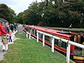 Canal boats at Froncysyllte - geograph.org.uk - 1570094.jpg