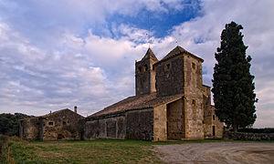 Canet d'Adri - St. Vincent's church, Canet d'Adri