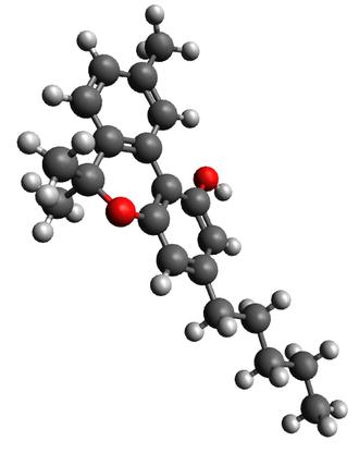 Cannabinol - Image: Cannabinol 3D