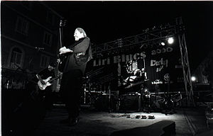 Canned Heat - Canned Heat at the Liri Blues Festival, Italy, in 2000.