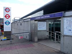 Canning Town stn northern entrance.JPG