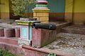 Cannon - Palace Courtyard - Bhukailash Rajbati Estate - Kidderpore - Kolkata 2015-12-13 8309.JPG