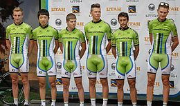 La Cannondale nel 2013 al Tour of Utah