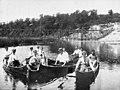 Canoeing on the Maitland River, Ontario (1906).jpg