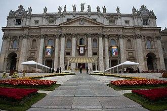 Canonization of Pope John XXIII and Pope John Paul II - Image: Canonization 2014 The Canonization of Saint John XXIII and Saint John Paul II (14036852944)
