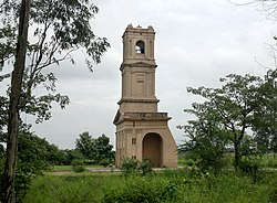 Cantonment Church Tower of Karnal