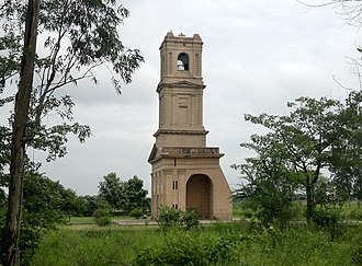 Karnal - Cantonment Church Tower of Karnal