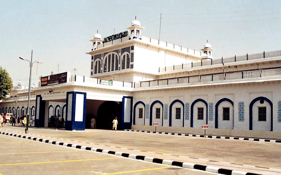 Cantt Railway Station Multan