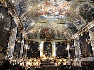 Cappella dei Mercanti, Turin Church in Italy