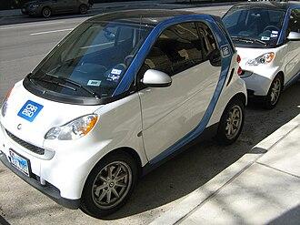 Car2Go - car2go cars in Austin, Texas
