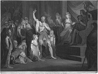 Tribunal - Andrew Birrell (after Henry Fuseli), Caractacus at the Tribunal of Claudius at Rome (1792)