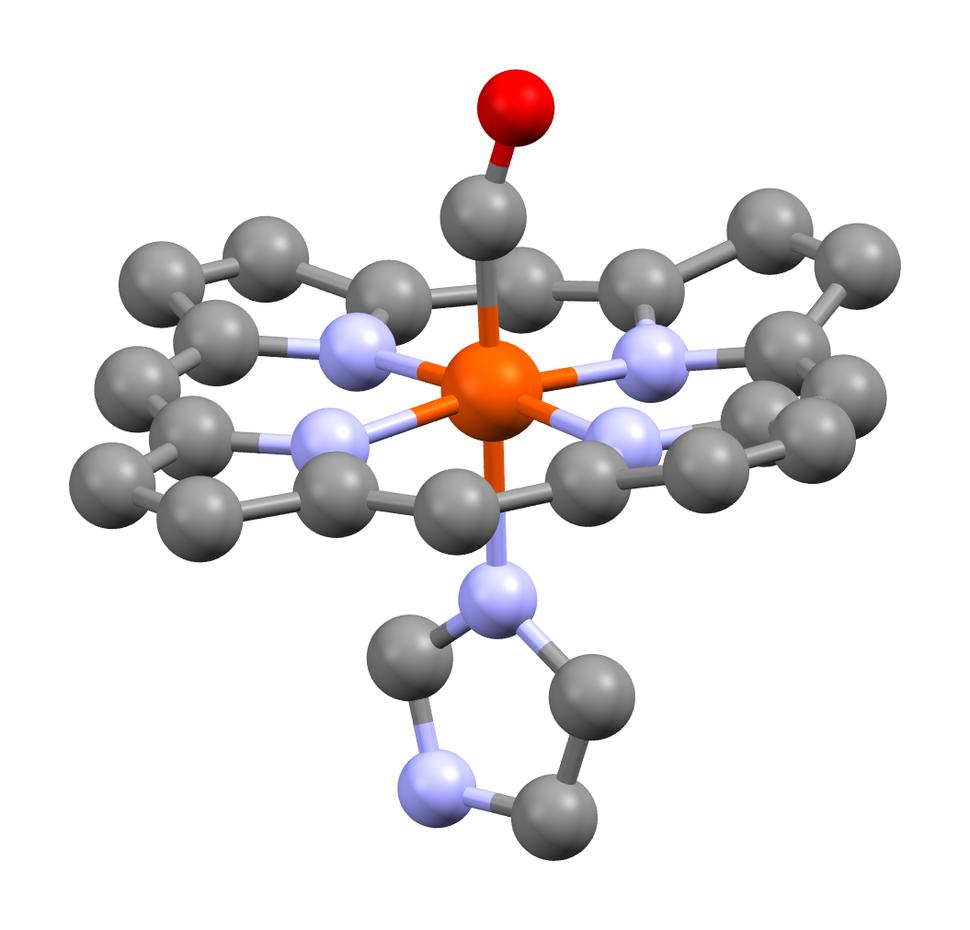 Carboxyhemoglobin from 1AJ9