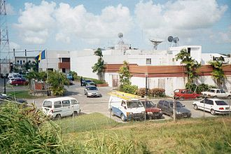 Caribbean Broadcasting Corporation - CBC Headquarters.