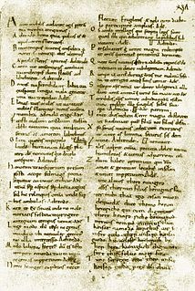 Medieval Latin Form of Latin used in the Middle Ages