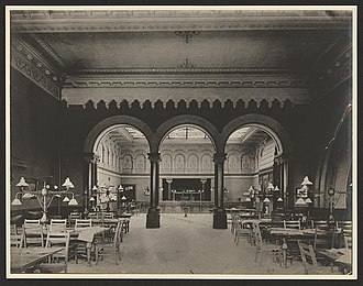 Carnegie Free Library of Allegheny - Image: Carnegie Library Allegheny Reading Room 1900