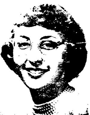 Carol S. Bruch - Carol Bruch as a first-year Shimer College student in 1958.