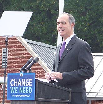 Bob Casey Jr. - Casey speaking at Abington High School in support of Sen. Barack Obama, October 2008