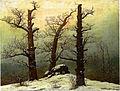 Caspar David Friedrich - Hünengrab im Schnee.jpg