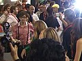 Cast of Glee leaving Signing at Comic Con (12062527874).jpg