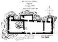 Castello d'Ussel, pianta, fig 127 disegno nigra lug 1936.tiff