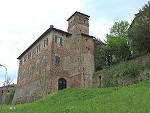 Castello di Sarmato vista posteriormente