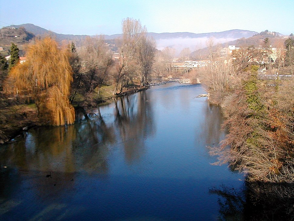 Catalonia StQuirzeBesora Ter river