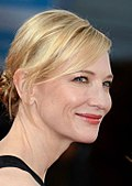 Photo of actress Cate Blanchett at the 2013 Deauville American Film Festival.