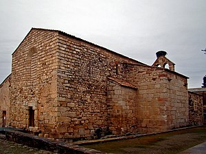 Cathedral of Idanha-a-Velha - The rear of the cathedral structure