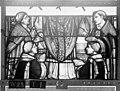Cathédrale - Vitrail, Chapelle Saint-Joseph, lancette gauche, Légende de saint Romain, sixième panneau, en haut - Rouen - Médiathèque de l'architecture et du patrimoine - APMH00031270.jpg