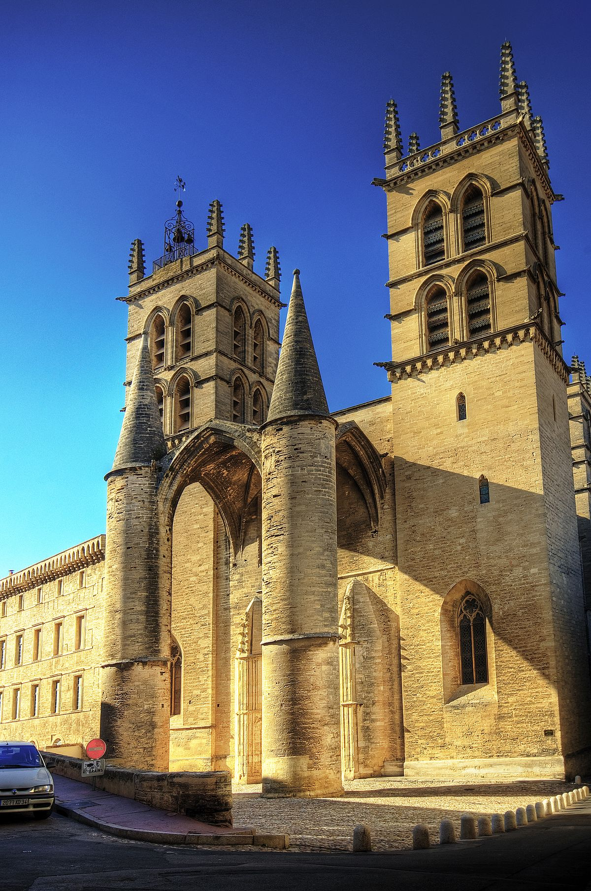 Montpellier Cathedral - Wikipedia