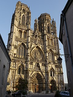 Toul Cathedral cathedral located in Meurthe-et-Moselle, in France