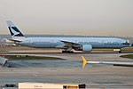 Cathay Pacific, B-KPK, Boeing 777-367 ER (46715786885).jpg