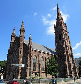 Downtown Paterson - Image: Cathedral of St. John the Baptist Paterson, New Jersey