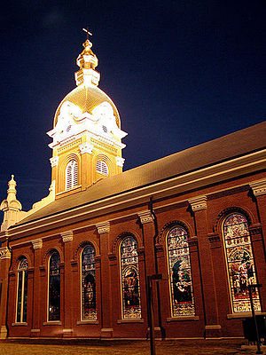 Roman Catholic Diocese of Kansas City–Saint Joseph - Cathedral of the Immaculate Conception, the co-seat of the Diocese of Kansas City–Saint Joseph