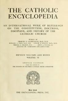 Catholic Encyclopedia, volume 6.djvu