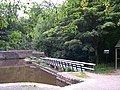 Causeway across Canal Overflow, Whaley Bridge, Derbyshire - geograph.org.uk - 570925.jpg