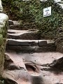 Caution, uneven steps - geograph.org.uk - 1498749.jpg