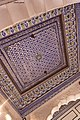 Ceiling at Collection of swings for royal kids at Mehrangarh Fort Museum.jpg