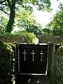 Cemetery Gate, St Mary's, Bolsterstone - geograph.org.uk - 1626755.jpg