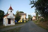 Center of Vítonice, Blažejovice, Benešov District.jpg