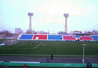 Pavlodar Central Stadium - Image: Centralny stadium Pavlodar