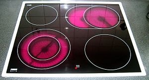 Electric stove - A glass-ceramic cooktop (2005)