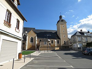 Château-du-Loir - The church of Saint-Guingalois